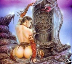 La Serpiente desnuda