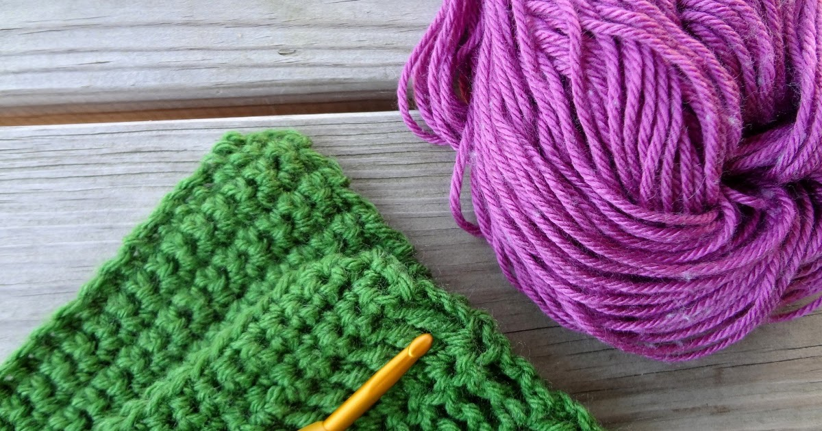 Slip Stitch Knit Squares Together : Fiber Flux: How to Slip Stitch Two Things Together (Outside Loops)