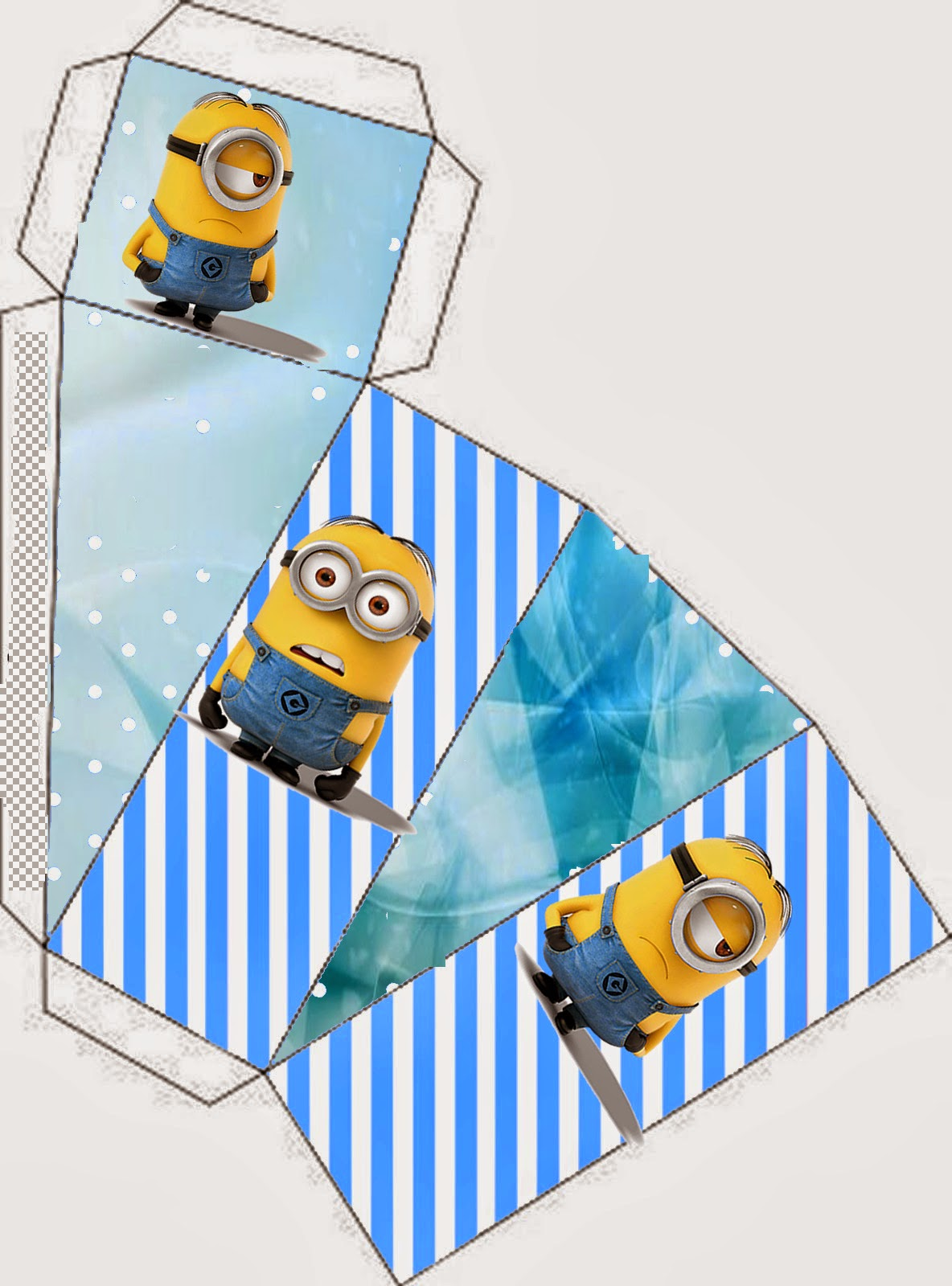 Minions This one is for pie box.