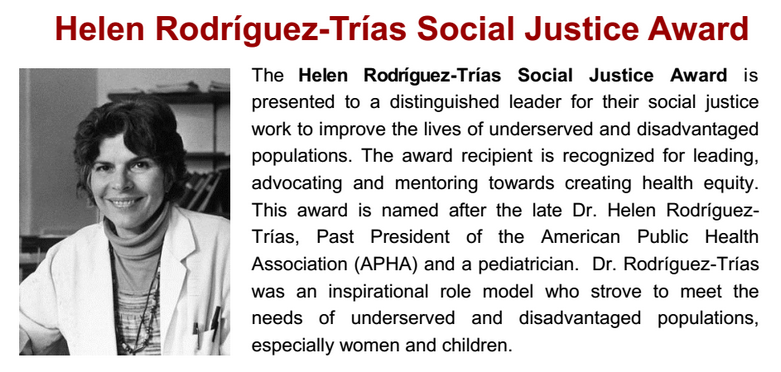 Helen Rodríguez Trías - Pediatrician Biography