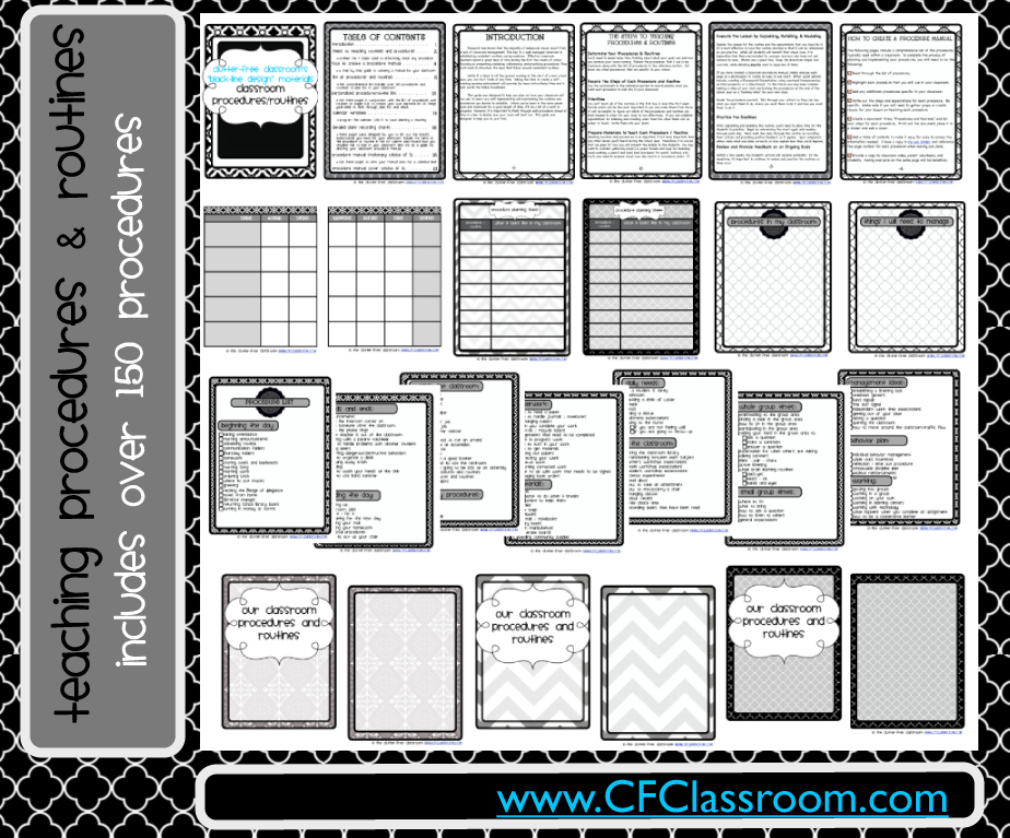 Classroom Design Overview : Plan out every procedure routine teacher tip