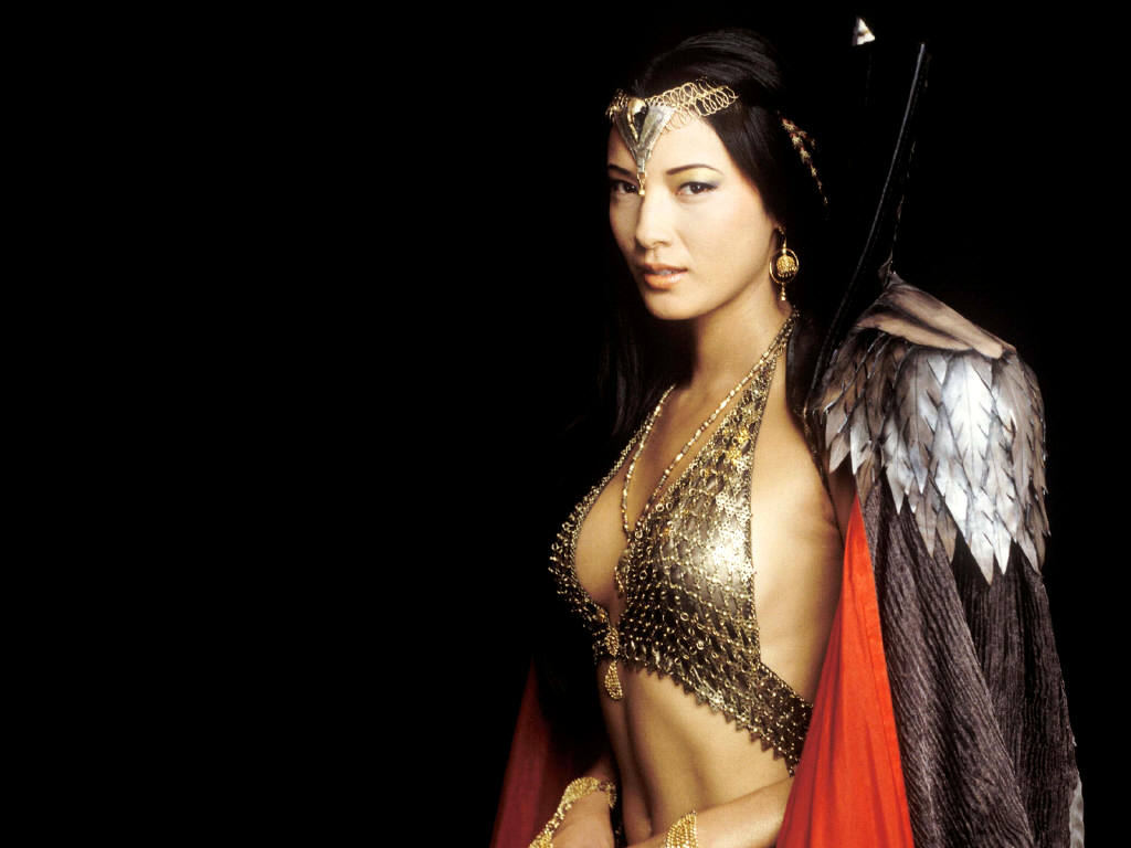 Kelly Hu is an actress...
