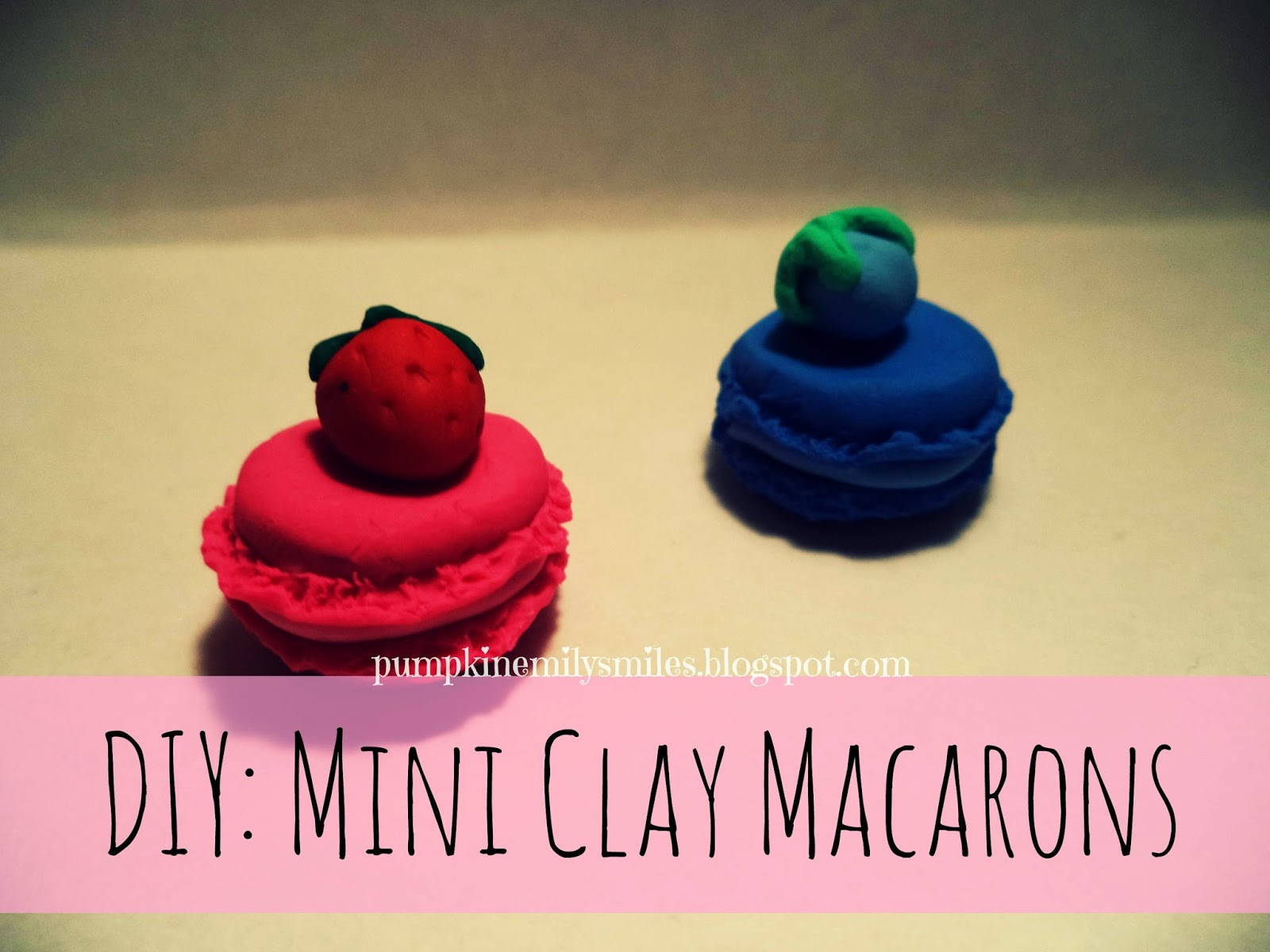 DIY: Mini Clay Macarons