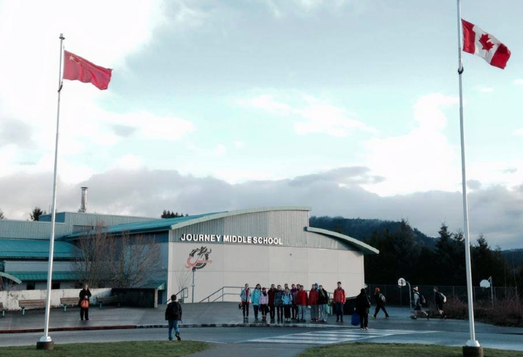 Journey Middle School in Sooke, B.C.