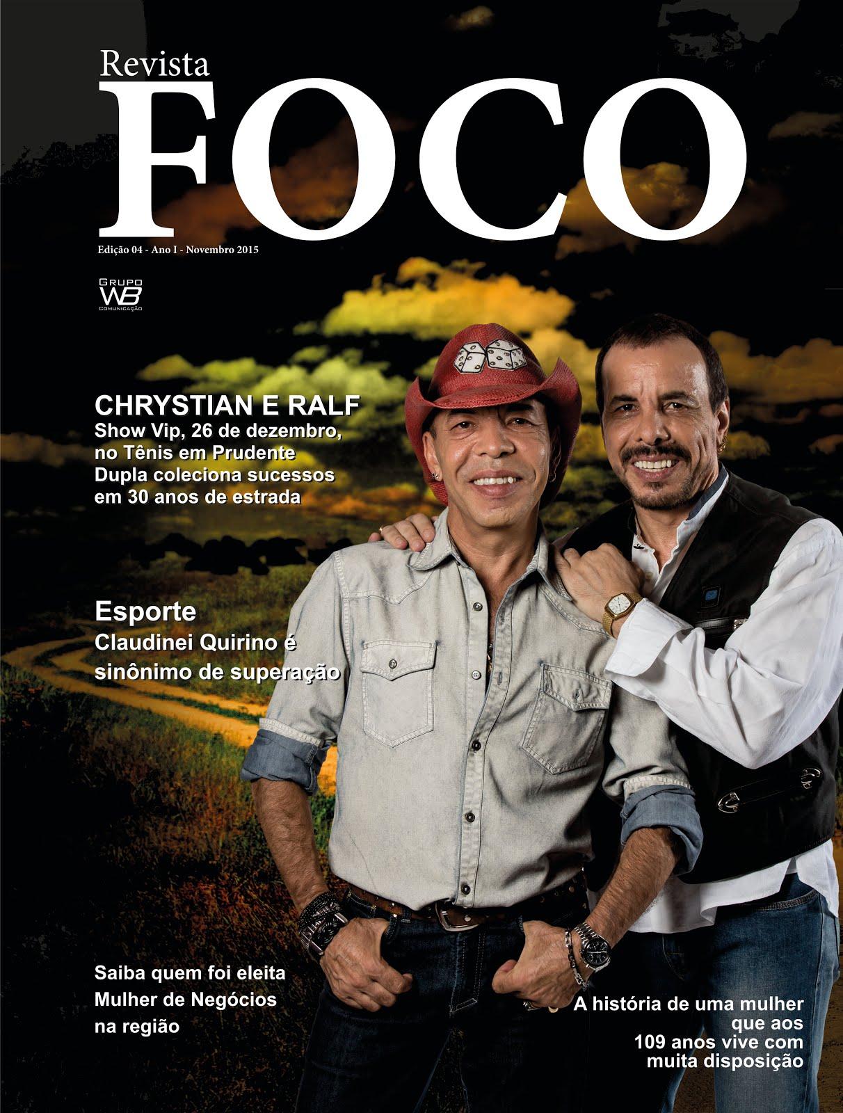 Clique na imagem e leia a Revista Foco