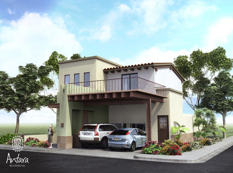 Fachadas mexicanas y estilo mexicano february 2012 for Planos de casas modernas mexicanas