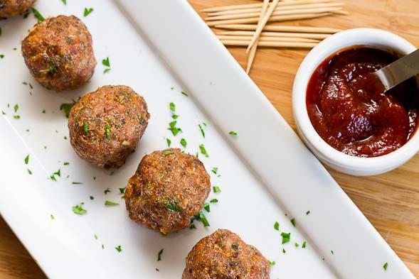 FRUGAL FITNESS ®: Lean Mean Terrific Turkey Meatballs