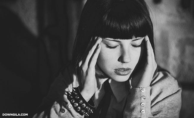 headache woman painful sakit kepala punca migrain
