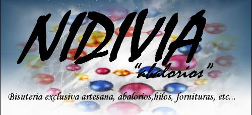 "NIDIVIA ""abalorios"""