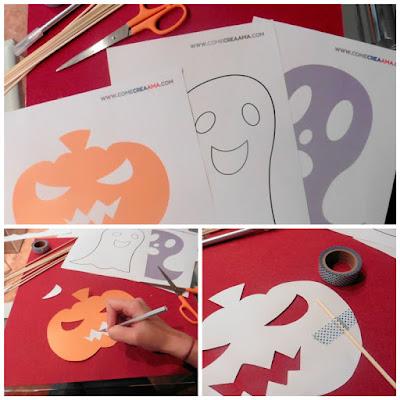 photocall para imprimir de halloween