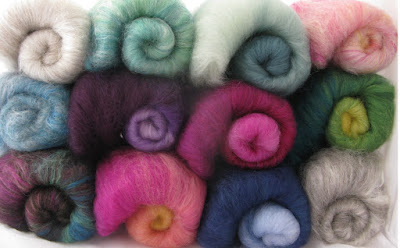 spinning batts