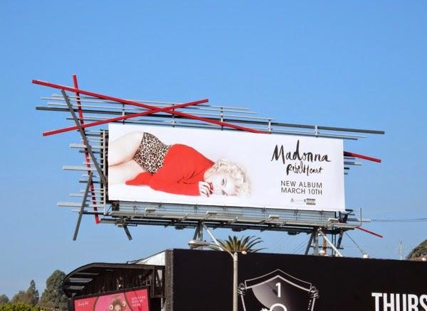 Madonna Rebel Heart music billboard