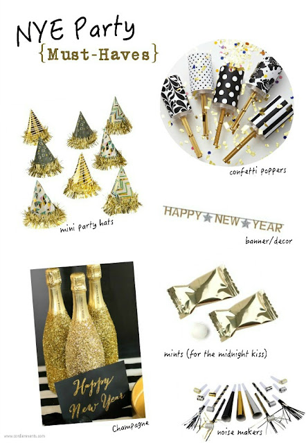 List of NYE Party Must Haves from Cordier Events