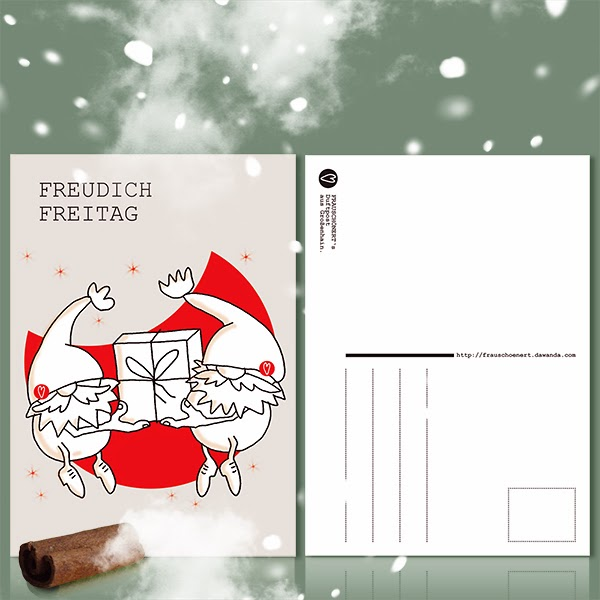 Xmas fragrant paper by frauschoenert