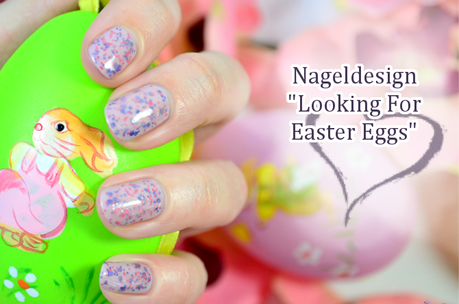 Naildesign Ostern LOOKING FOR EASTER EGGS