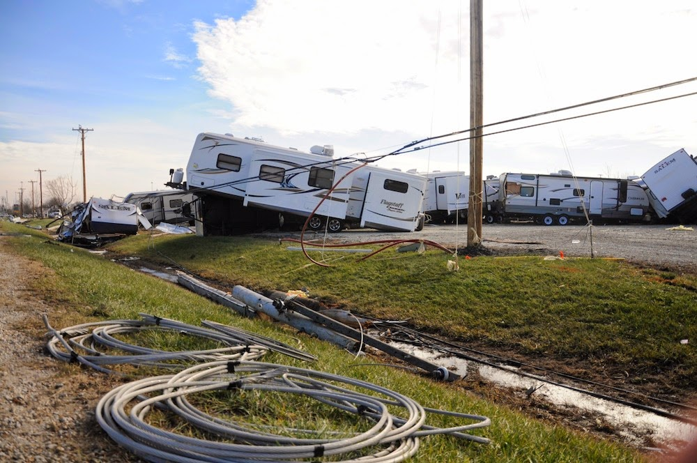 RV Park demolished by Tornado