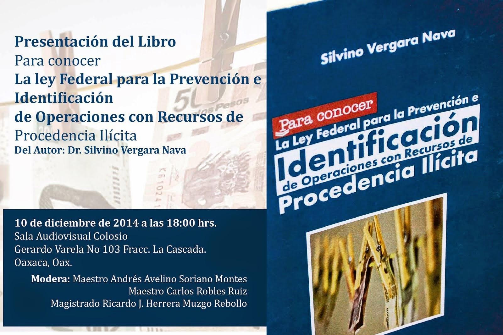 Presentación del Libro del Dr. Silvino Vergara Nava