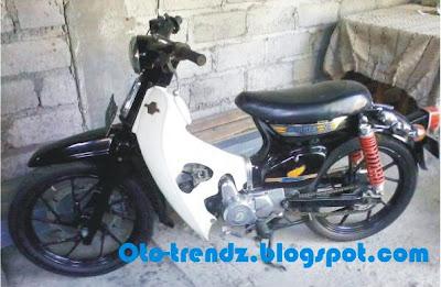 modifikasi motor grand, motor grand modif, modifikasi motor grand, honda gambar honda astrea grand 1991 yang telah di modif modifikasi honda grand ala super moto astrea grand modif