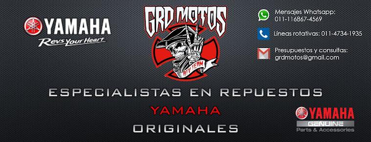 GRD MOTOS - Repuestos originales Yamaha