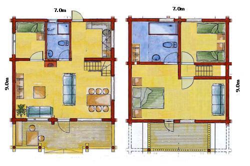 Planos de casas modelos y dise os de casas planos de for Programa para hacer planos gratis en espanol