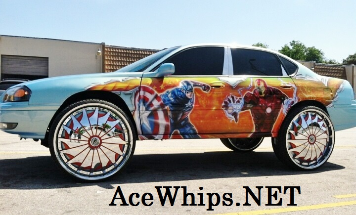 Chevy Impala On 30 S http://acewhips.blogspot.com/2013/04/avengers-chevy-impala-on-30-davin.html