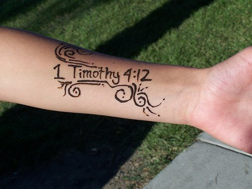 Scripture Tattoos Designs And Ideas