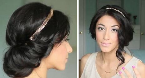 Un lindo y fácil peinado estilo princesa Jasmine – Paso a paso