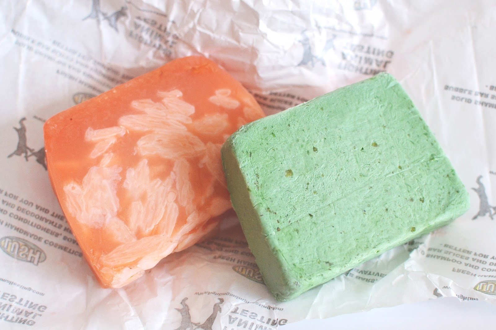 soap from lush review