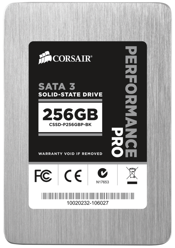 Corsair Performance Pro Series SSD Review screenshot 1