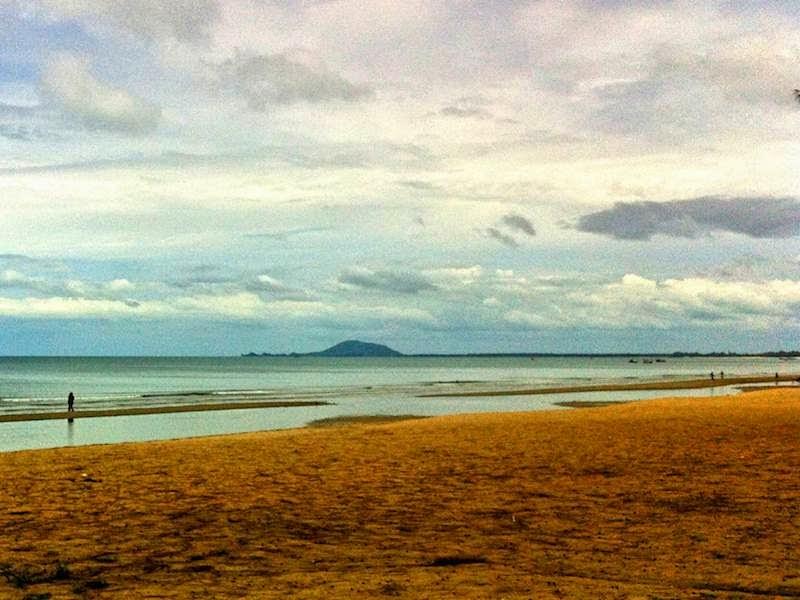 Ban-Krut beach in July