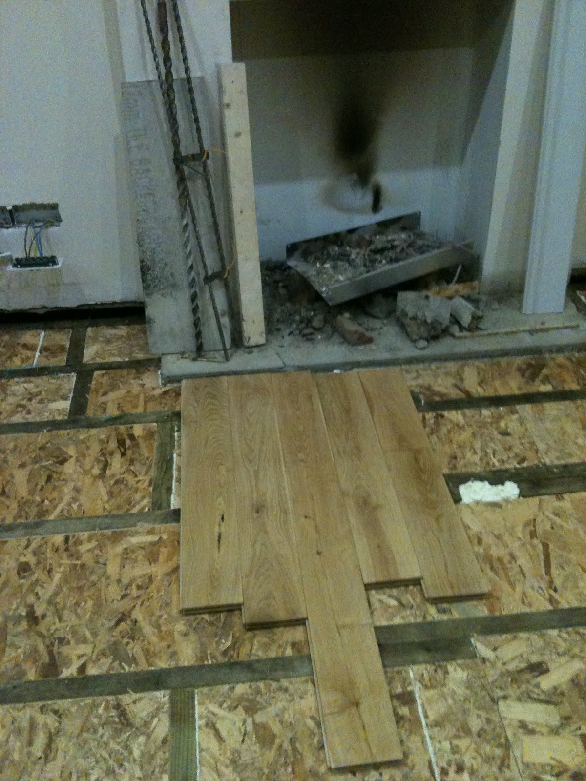 Martin Peter Property Solutions Oak Flooring On Timber Suspended