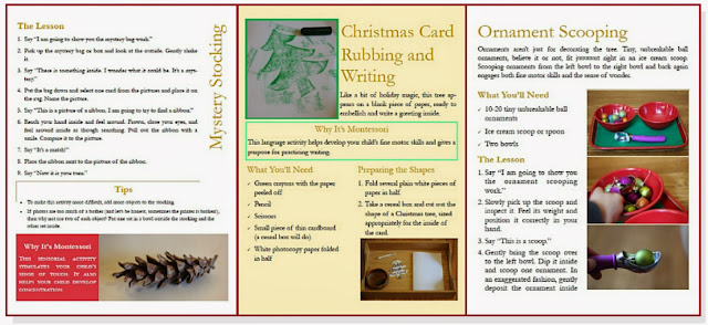 A Merry Montessori Christmas ebook by Aubrey Hargis of Montessori Mischief