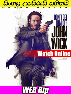 John Wick 2014 Watch Online With Sinhala Subtitle