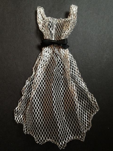 365 dresses dress 116 metal mesh. Black Bedroom Furniture Sets. Home Design Ideas