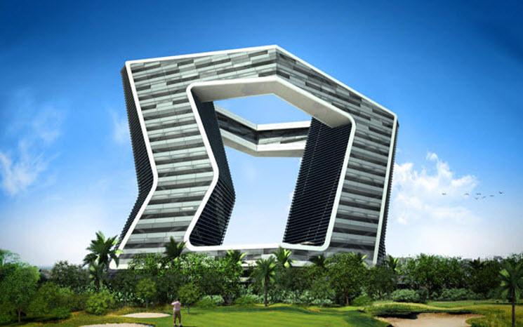 Torre gsi de 20 pisos m jico for Arquitectura que se estudia