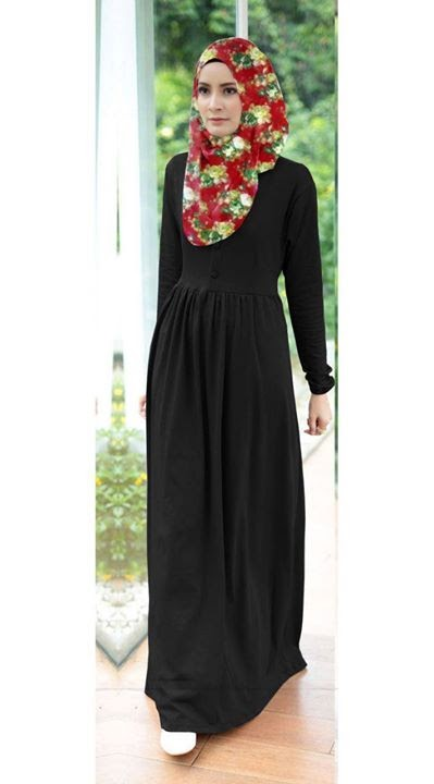 Half Button Dress with RIbbon Belt FREE Shawl (OWJ519-105)