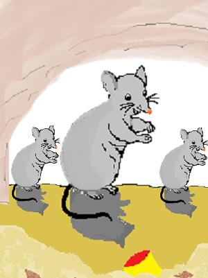 para pedagang kucing (pulau tikus)