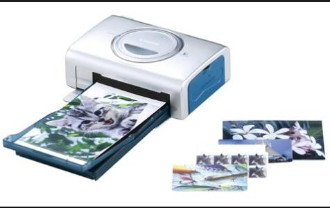 Printer Canon CP-200 Card Photo