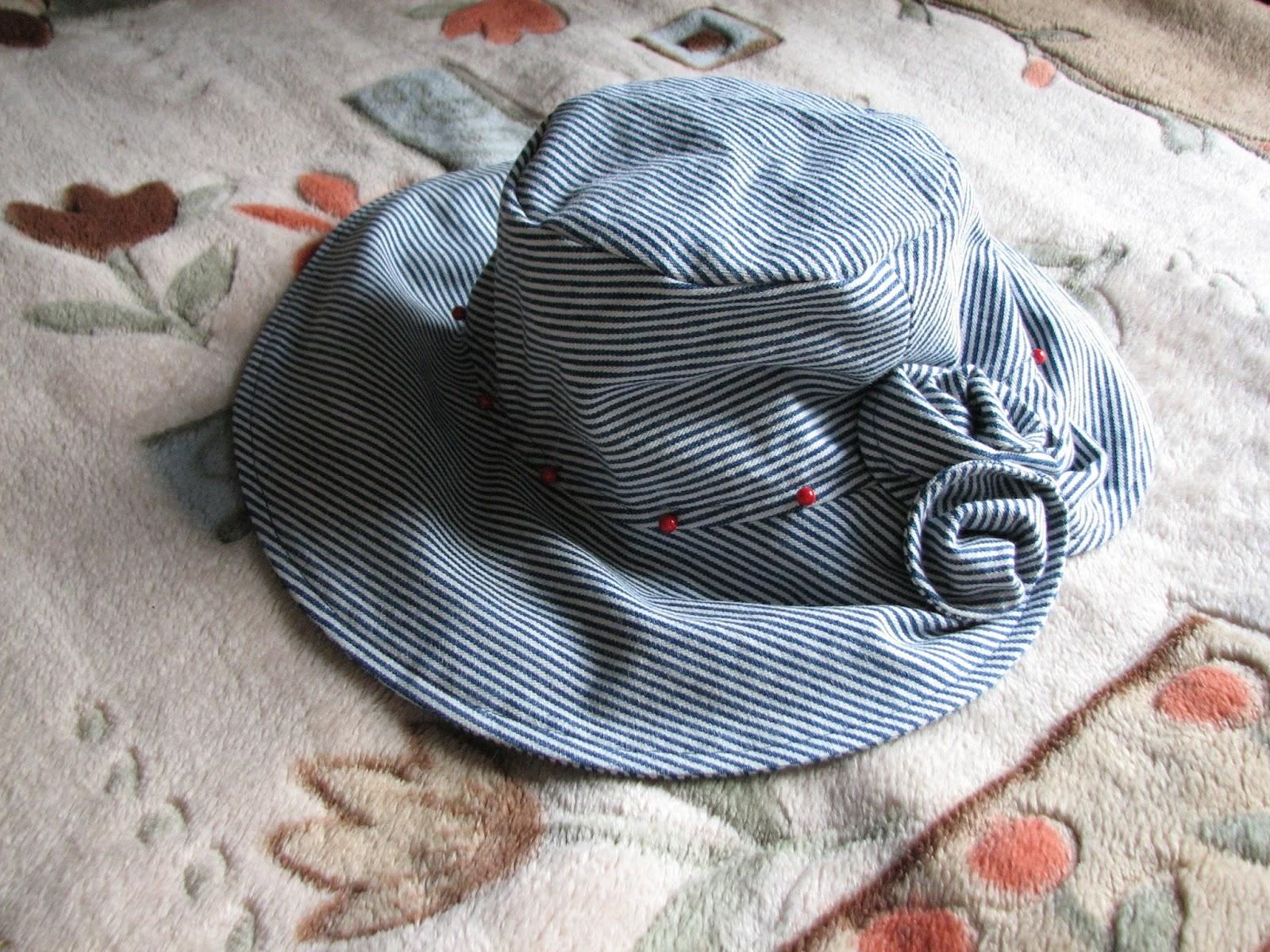 Как сшить шляпку на лето своими руками