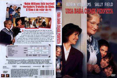 Filme Uma Babá Quase Perfeita DVD Capa