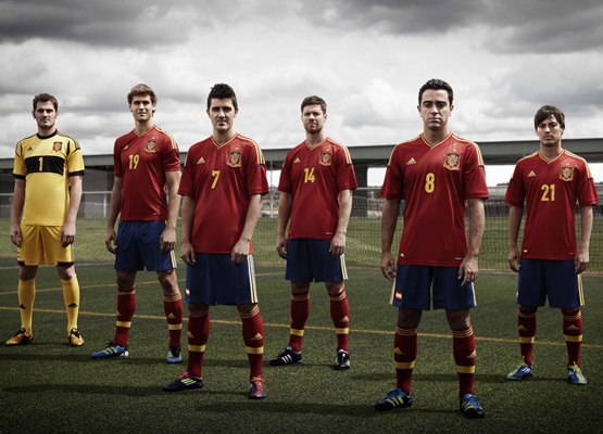 anuncio camiseta de la selección española Eurocopa 2012