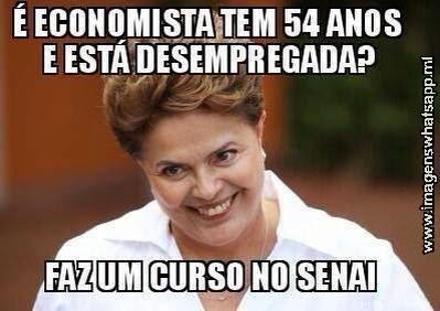 Dilma e a Economista, zueira do Whatsapp