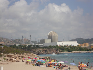 Nuclear Center near Vandellòs Beach Photo - Spain