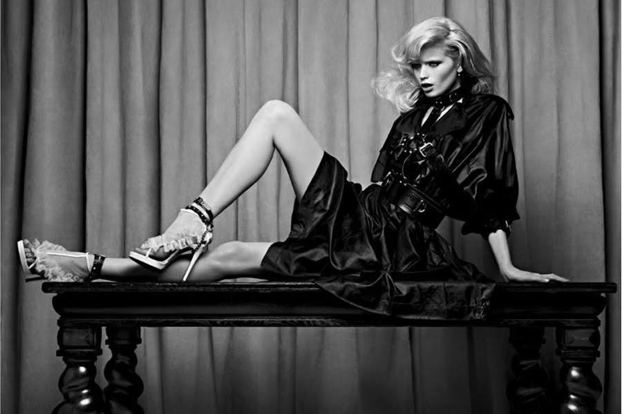 Abbey Lee Kershaw for Vogue Russia by Hedi Slimane