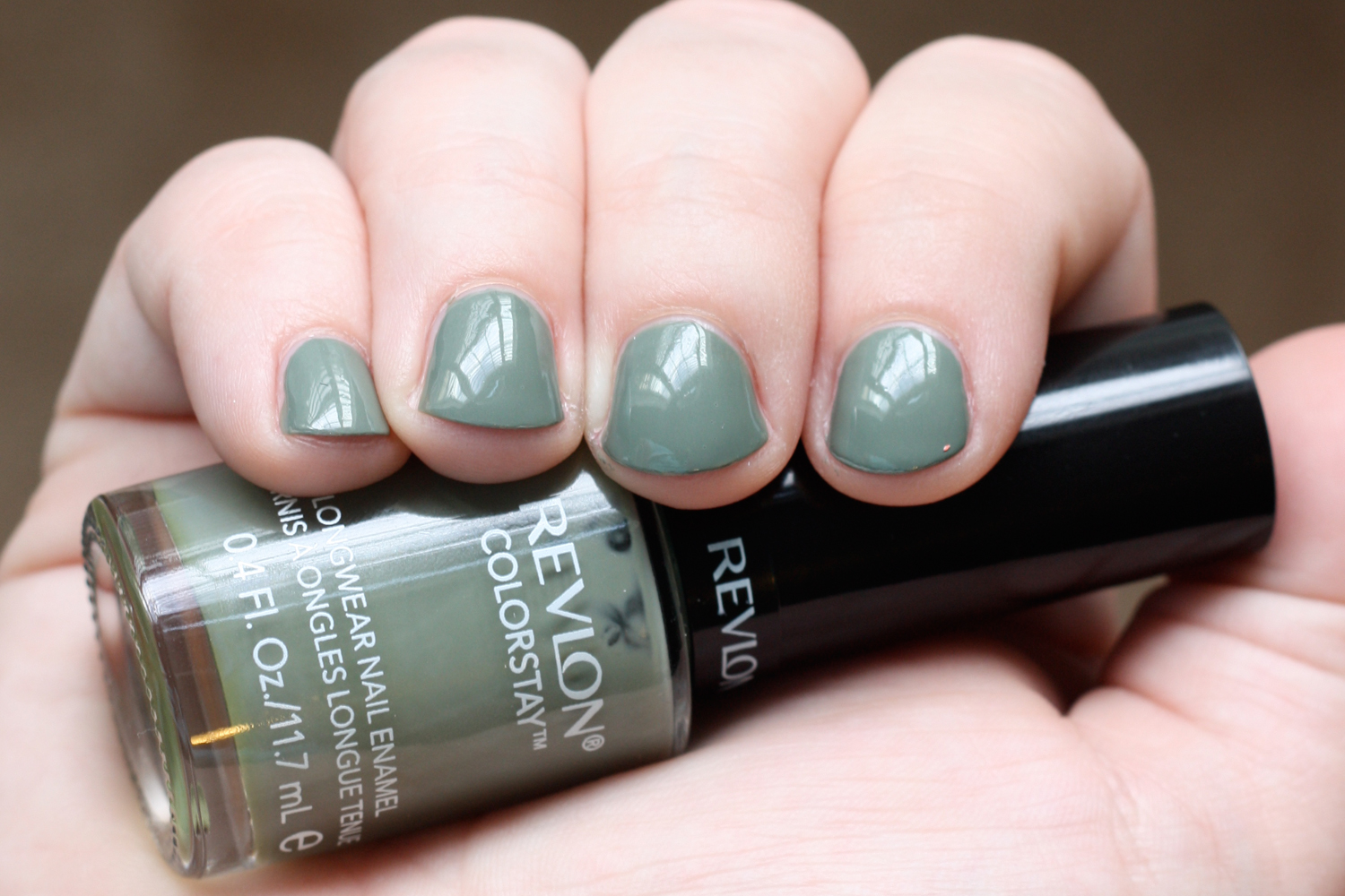 That Winsome Girl: Nail of the Day: Revlon Spanish Moss