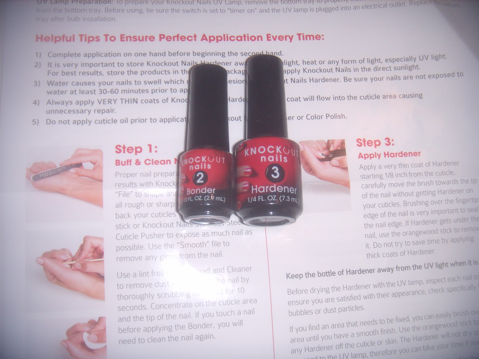 Mommie of 2: Knockout Nails Review