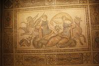 Mosaico romano procedente de la   antigua ciudad de Zeugma  Museo de Gaziantep, Turquía