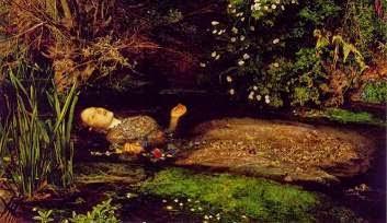 """Ofelia"" (John Everett Millais)"