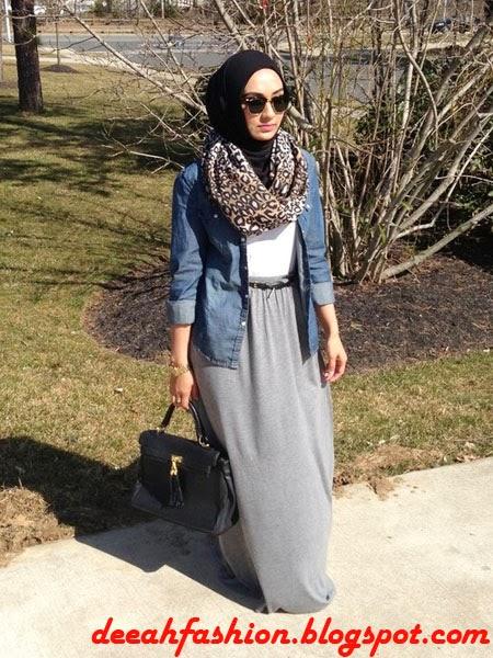 Gaya Jilbab Turkish Modern Jilbab ala Timur Tengah