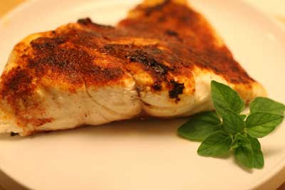 blackened red fish
